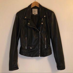 Pleather Moto Jacket